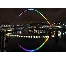 Rainbow Bridge Photographic Print