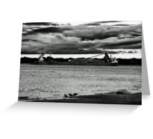 Onnimous Skies Greeting Card