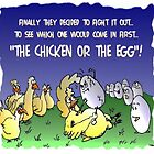 Chicken & the Egg by WHATSTHEPOINT