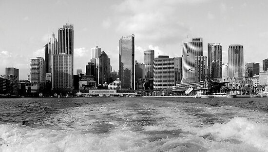 Sydney from the water by Paige