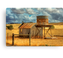 Forgotten Revisited - Kanmantoo, Adelaide Hills, South Australia Canvas Print