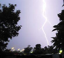 He commands the lightning! by Richard  Willett