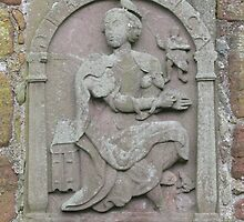 Wall carving Edzell Castle, Angus, Scotland by jacqi