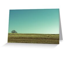 wisconsin horizon Greeting Card