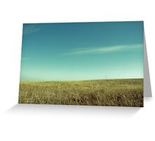 wisconsin sky Greeting Card