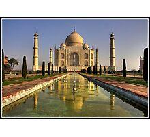 Dawn at the Taj Mahal Photographic Print