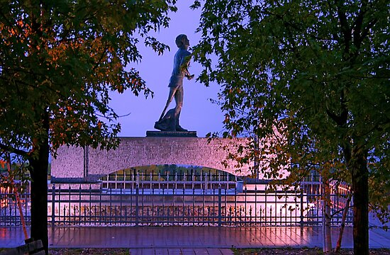 Terry Fox Monument, Thunder Bay, Ontario by Vickie Emms