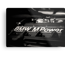 BMW M Power Metal Print