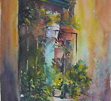 Balcony Garden by thecolourist