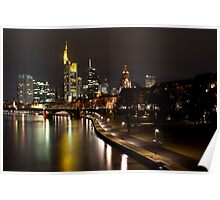 Frankfurt by Night Poster
