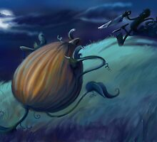 Slashing Pumpkins by Heather Rinehart