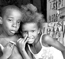 Favela Kids, Rocinha Rio De Janeiro Brazil, 2009 by Tash  Menon