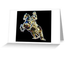 The Golden Statue Greeting Card
