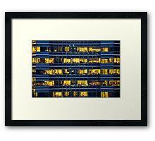 Inside the Beehive Framed Print