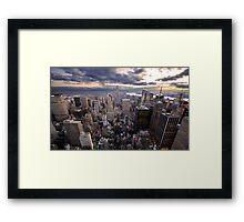 Rockefeller's View Framed Print