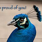 So proud of you! by Bonnie T.  Barry