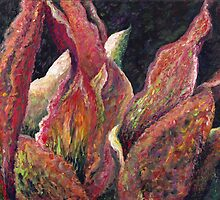 Flaming Leaves by Nadine Rippelmeyer