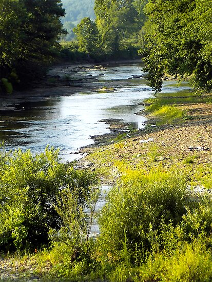White River Spring by NatureGreeting Cards ©ccwri