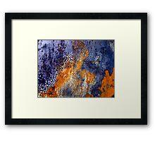 Heat Splash Framed Print