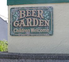 Welsh Beer Garden by JenniferJW