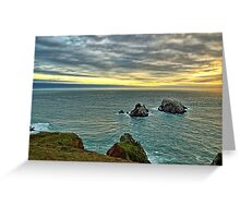Le Estac - Alderney Greeting Card