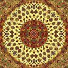 Mandala Abstract by J O'Neal