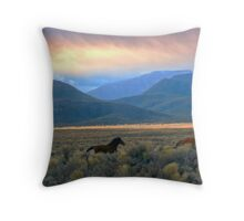 Wild As The Wind ... Throw Pillow