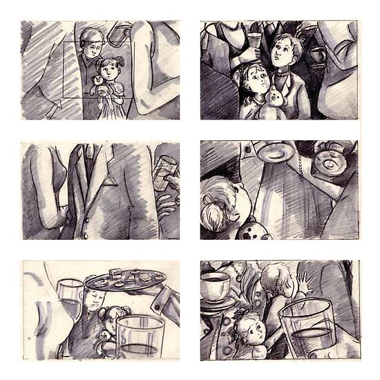 "storyboards - ""A Rose"" by Liesl Yvette Wilson"