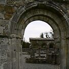 Arch way at Mellifont Abbey by Finbarr Reilly