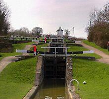 Foxton Locks by SimplyScene