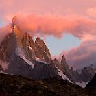 Cerro Torre at sunrise by Ivan Ilarionov