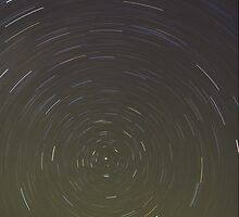 Sinai Desert Star Trails by Russell Cockman