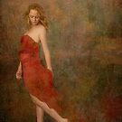 Red dress * Wall Art by AnaCBStudio