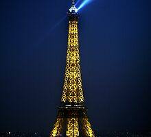 Eiffel Tower at Night by swight