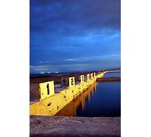 Starting Blocks, Newcastle Ocean Baths Photographic Print