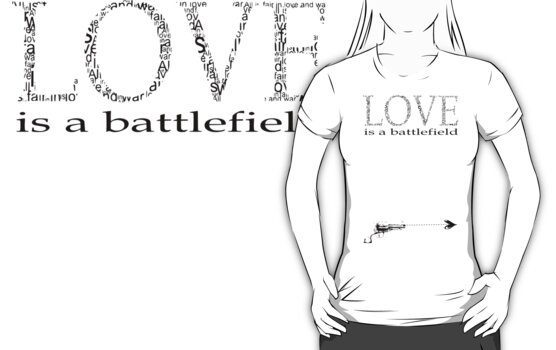 Love is a battlefield by Kitzekatze