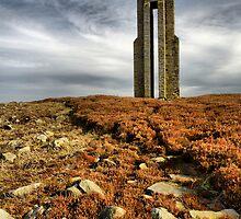 Carlesmoor Sighting Tower by Stewart Laker