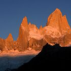 Fitz Roy at sunrise by Ivan Ilarionov