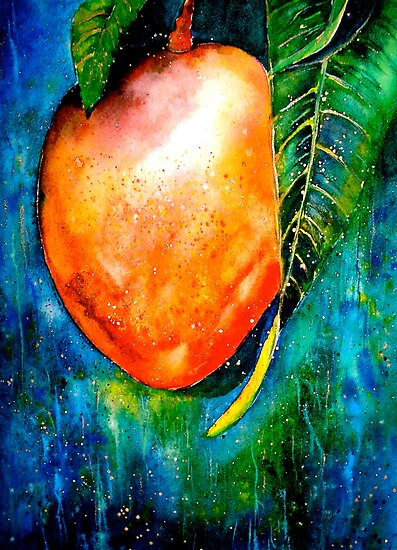 Tropics...The Mango Tree by © Janis Zroback