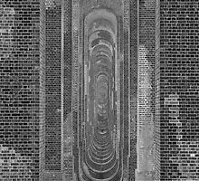 Balcombe Viaduct (B&W) 2 by SpencerCopping