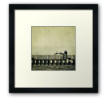 Praying to a God I Don't Believe In Framed Print