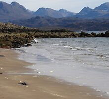 The Torridon Mountains from Big Sand Beach by jacqi