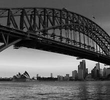 Sydney Harbour by Chris Ballment