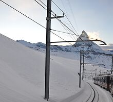 Gornergrat Bahn – the matterhorn railway  by Rosy Kueng