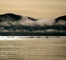 Skiing in Cairns by Lynette Higgs