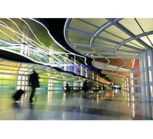 The People Mover Corridor Photographic Print