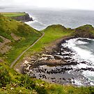 The coast of Ireland by Mariann Rea