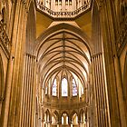 Interior of Cathedral Notre Dame de Coutances by AmyRalston