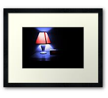 Motel. Sleepless. Framed Print