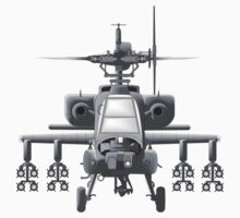 Apache Helicopter by Scott Westlake